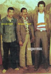Les membres fondateurs de l'Ittihad Baladiet Mouzaia ( I. B. Mz )