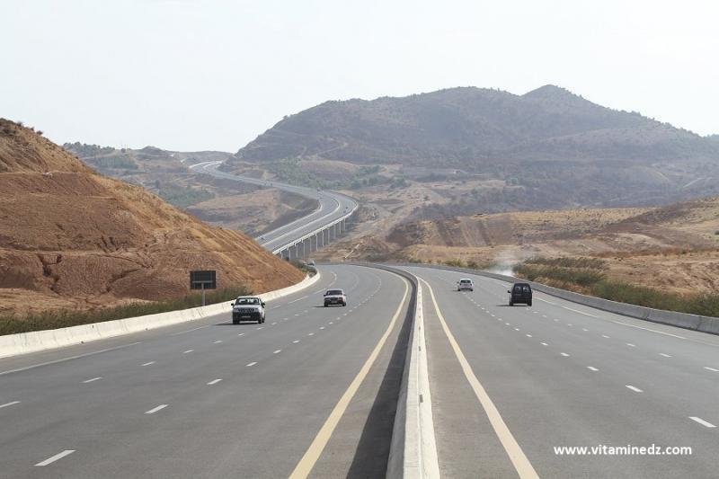 Hammam Boughrara, autoroute Est Ouest