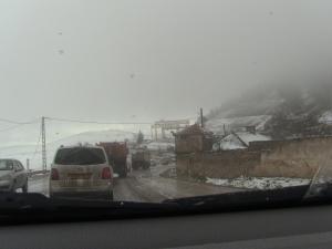 Premières chutes de neige sur le Col de Ben chicao (Hier le 07.12.14)