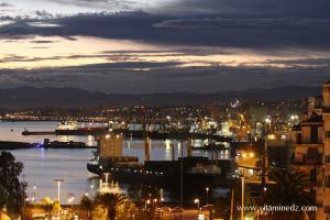 Photo Port d\'Alger, La nuit