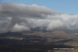 Mont Zaccar à partir de l'autoroute Est Ouest