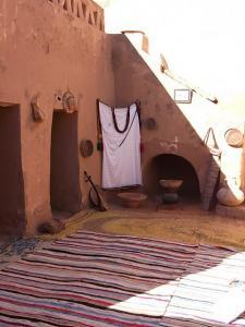 Beni Abbes - Le salon du vieux ksar