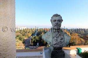 Vue sur le Jardin d\'essai à partir du Musée des Beaux Arts d\'Alger