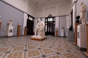 Salle des sculptures Musée des Beaux Arts d\'Alger