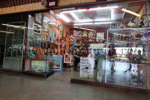 L\'une des rares boutiques ouvertes de Ryadh El Feth