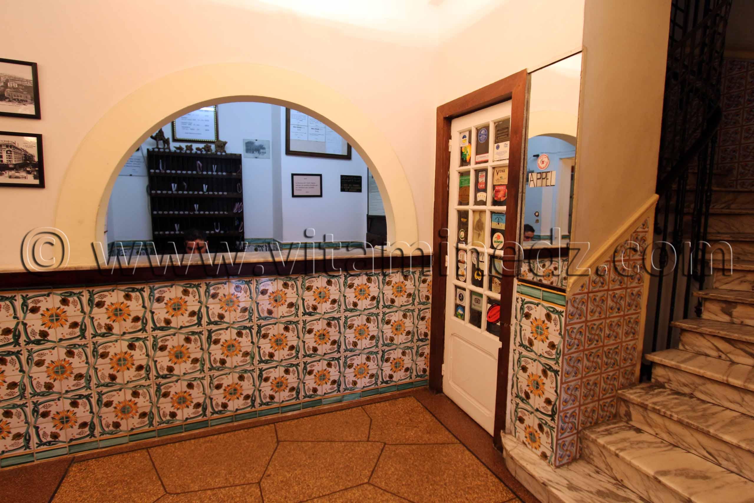 reception hotel regina alger centre bon rapport qualit prix. Black Bedroom Furniture Sets. Home Design Ideas