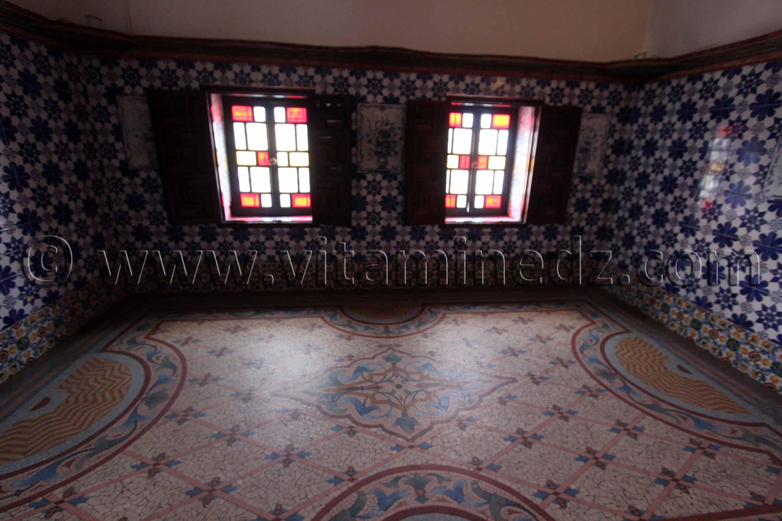faience et mosaiques au palais du rais bastion 23 alger - Faience Algerie