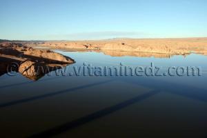 Brezina, le barrage
