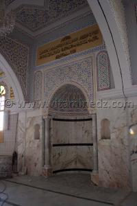 Mihrab de la nouvelle mosquée de la Zaouia de Cheikh Belkbir à Adrar