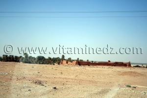 Ruines a Touki Commune de Tamentit, Wilaya d\'Adrar