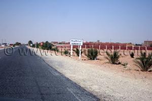 Entrée de Tamantit, Wilaya d\'Adrar