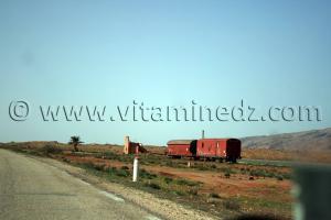 Ancienne ligne de Chemin de Fer, Wilaya de Naama