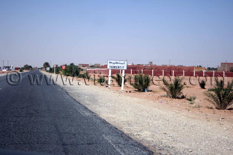 Entr�e de Tamantit, Wilaya d'Adrar