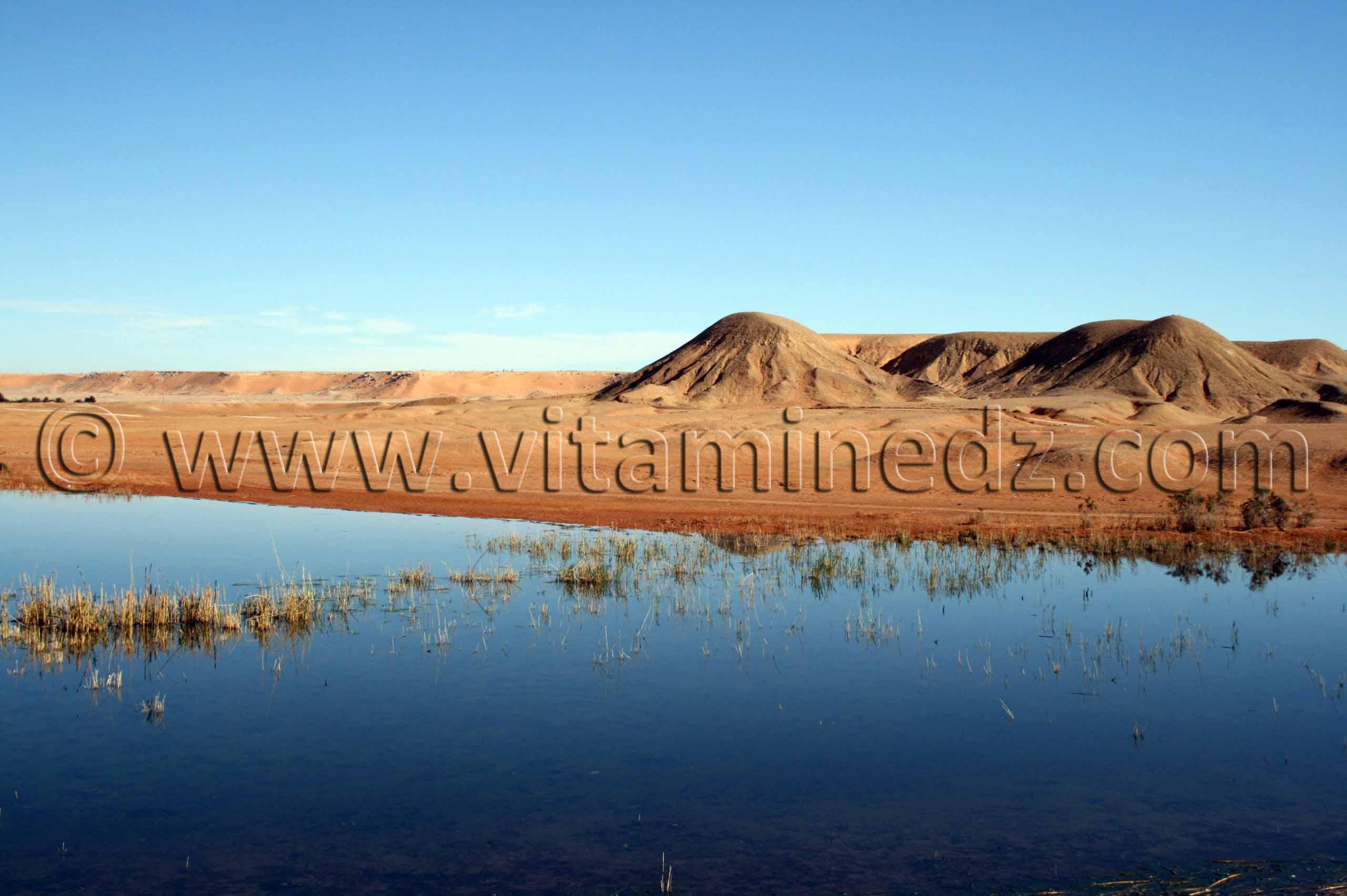 le lac Hassi El Gara � El M�n�a(El Golea)