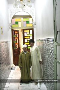 Des enfants Tlemceniens élevés dans la tradition de leurs ancêtres