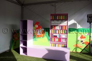 Bibliothèque pour enfants Tlemcen, le FELIV au palais d\'El Mechouar (25.06.2011)