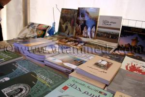 Librairie Echemss à Tlemcen, le FELIV au palais d\'El Mechouar (25.06.2011)