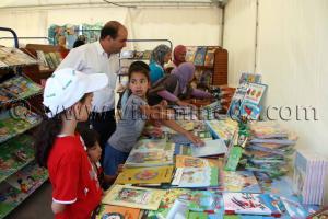 Livres d\'enfants Tlemcen, le FELIV au palais d\'El Mechouar (25.06.2011)