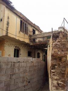 Maison en ruine, Derb Dar Diaf, une ruelle historique en voie de disparition