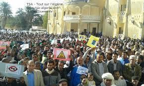 L'opposition s'est jointe à la mobilisation des manifestants: Rejet du gaz de schiste à Ouargla