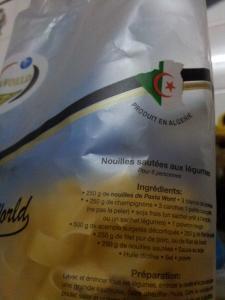 Des pates algeriennes proposent des recettes au porc