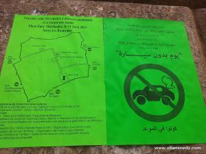 Tlemcen , le 11 Avril 2015 journée sans voiture.