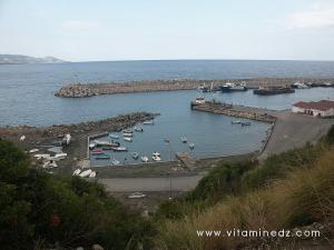 Port d\'Azeffoun, en 2005