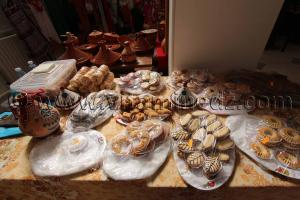 Gateau traditionnels et modernes de Tizi Ouzou, Foire nationale de la femme artisane � Tlemcen