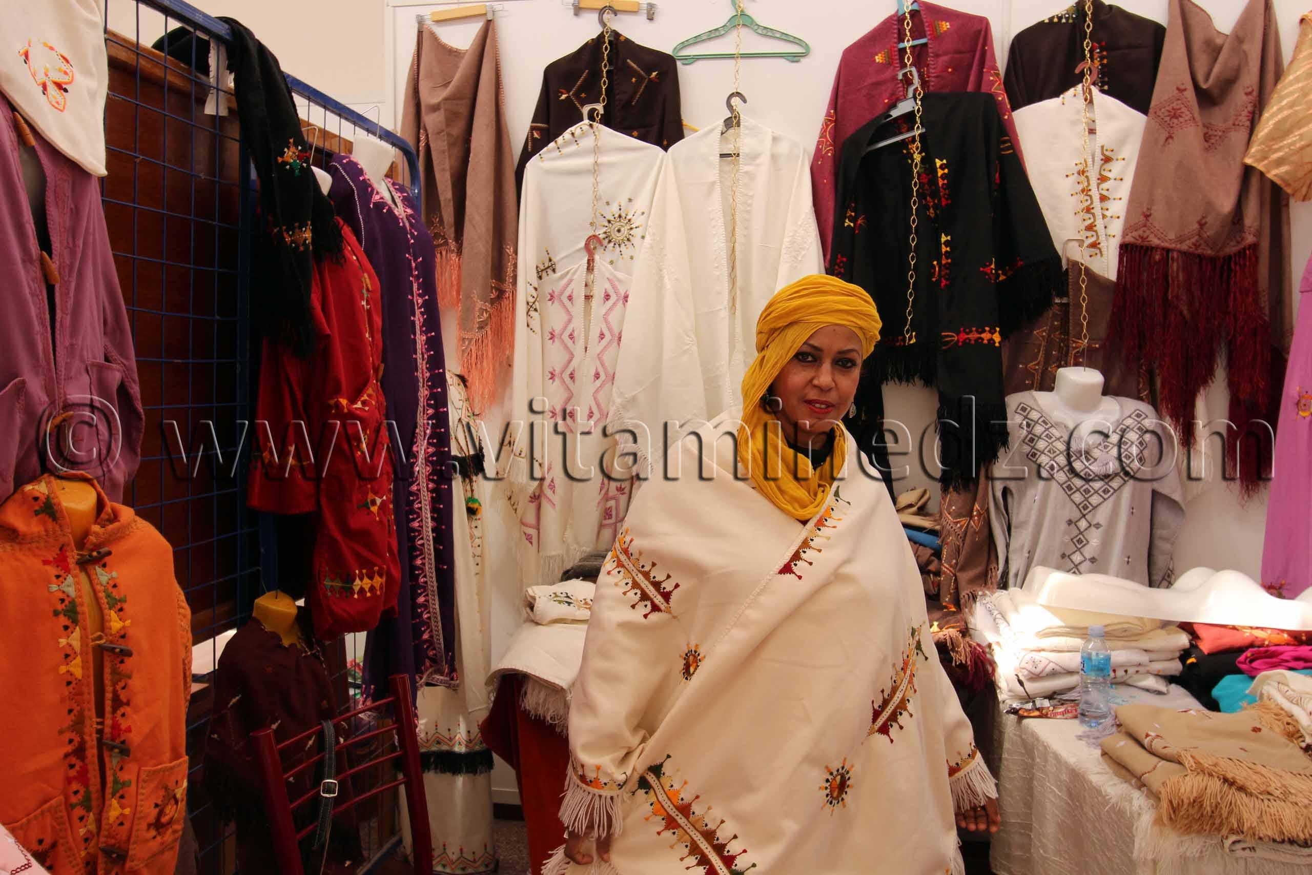 Challes et Guendouras de Oued Souf Foire nationale de la femme artisane � Tlemcen