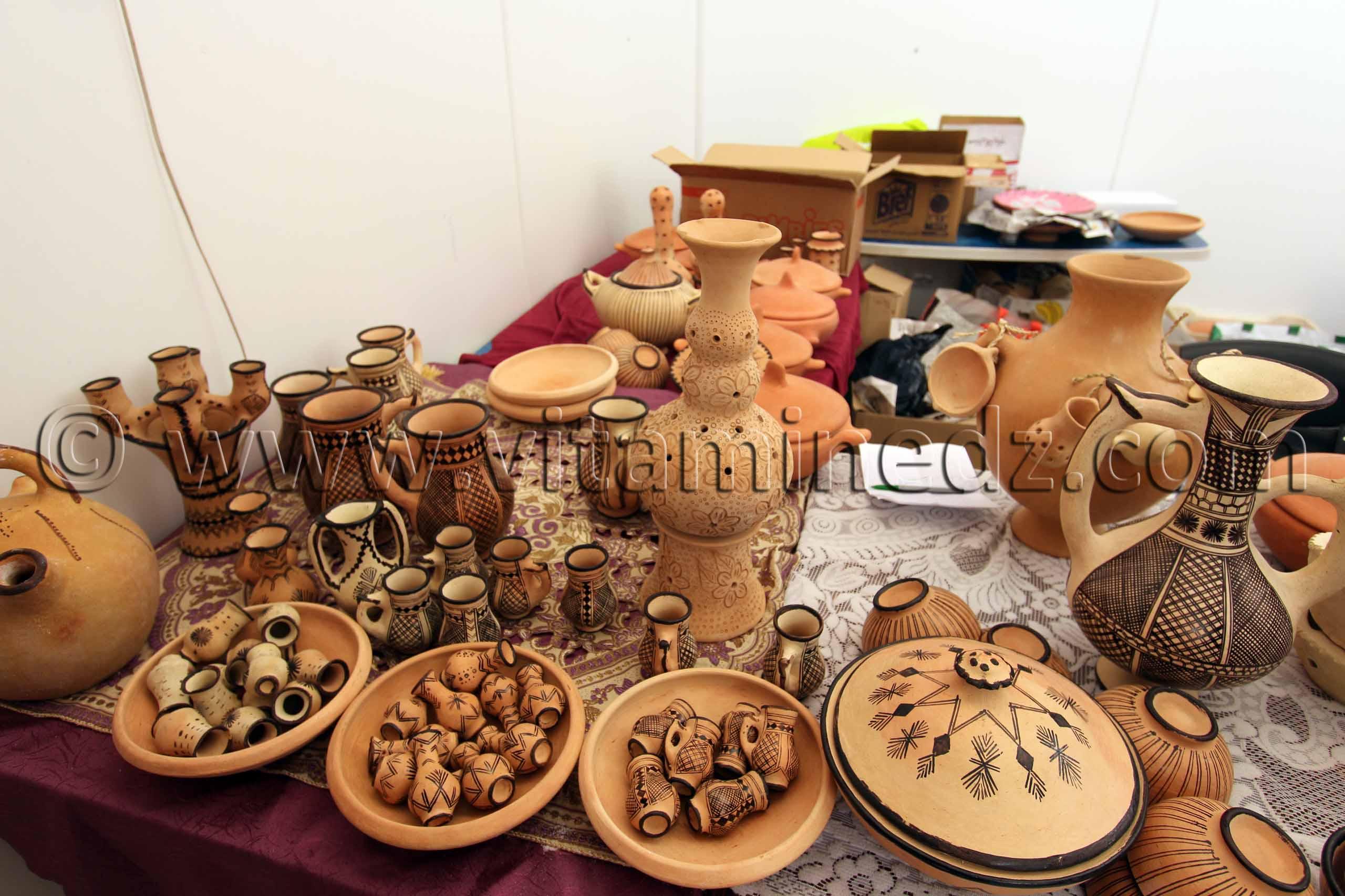 Poterie algerie artisanat et metiers photos for Ustensile de cuisine en a