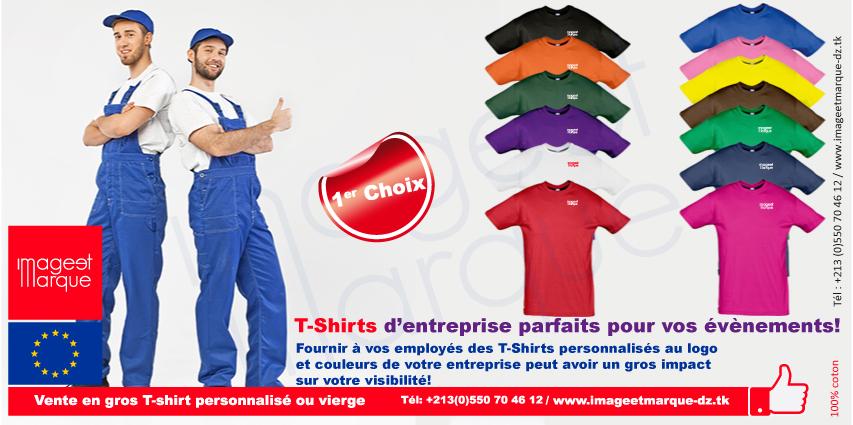 Importateur t-shirt algerie