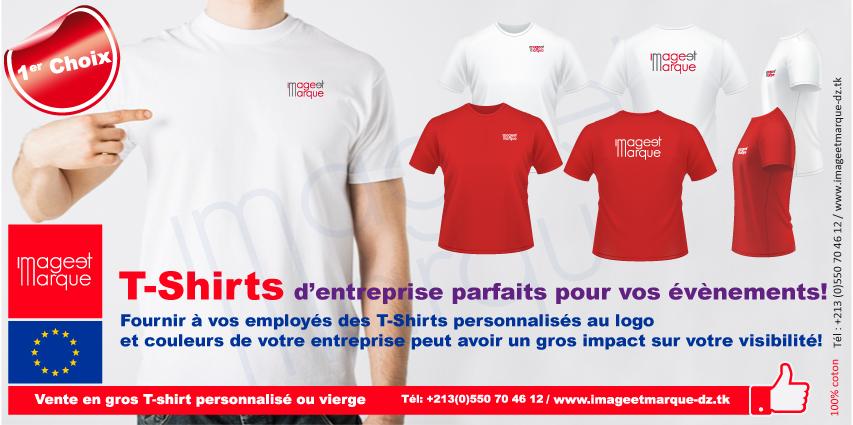t-shirt personnaliser Alg�rie