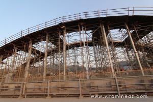 La réalisation du nouveau pont de Ténès au point mort