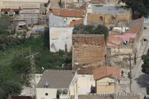 Vue de haut de Bab El Bhar au vieux Tenes