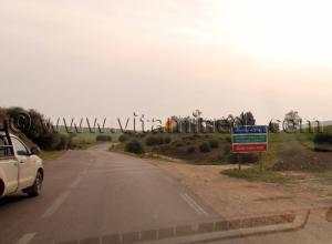 Entrée de la Commune Abou El Hassan, à partir de Talassa, W. Chlef