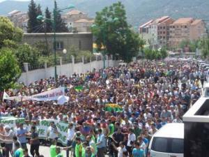 Marche des supporters de la JSK à Tizi Ouzou: «Hannachi doit partir»
