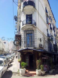 Alger centre, second cup caf�, un sp�cialiste du caf�