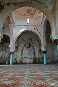 Tlemcen - El Eubbad Intérieur du Mausolée Sidi Abdelkader Al Jilani