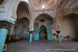Interieur du Mausolée Sidi Abdel kader Al Jillani à Tlemcen
