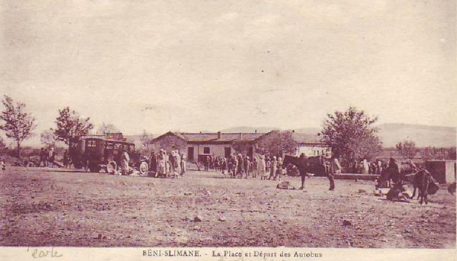 autobus de Beni slimane en 1950