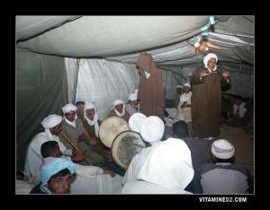 Dikr et Hadra (Chants et danses Bedouis religieux) à Sidi Naceur