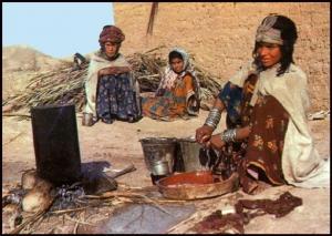 اعمال المرأة الريفية ---في يابوس------خنشلة