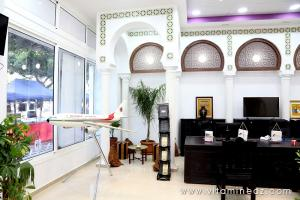 Nouvelle décoration du siège de l\'ONAT à Alger