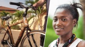 Afrique - Une Ghanéenne crée des vélos en bambou, écologiques et durables