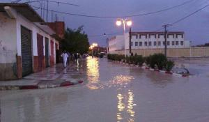 Intempéries: La ville de Batna sous les flots