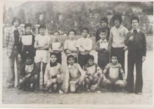 فريق المدرسة الابتدائية بوخضرة سنة1976