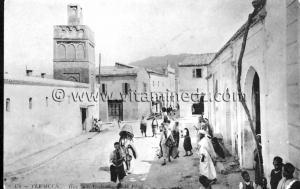 Tlemcen Photo Ancienne - Mosquée Sidi El Benna