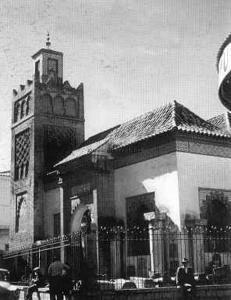 Tlemcen Photo Ancienne - mosquée sidi belhacene