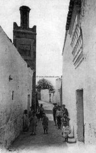 Tlemcen Photo Ancienne - Derb et mosquée ouled Sidi El Imam