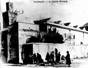 Tlemcen Photo Ancienne - La grande mosqu�e